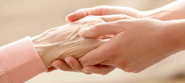 helfende Hand im Alltag